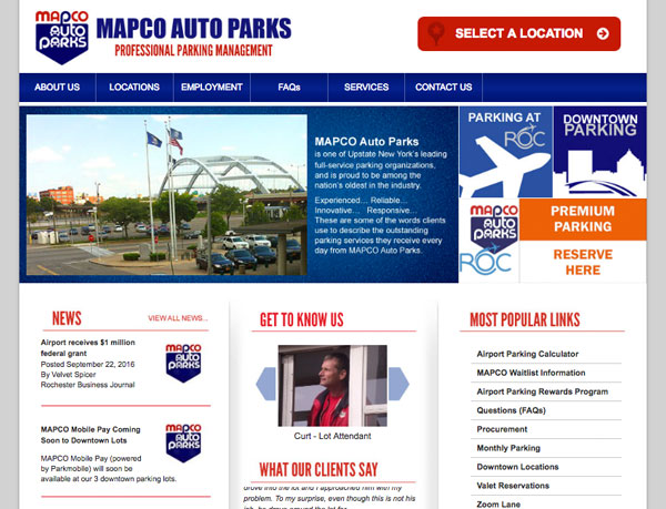 Mapco Corporate Site